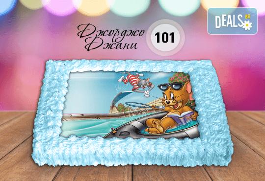 За най-малките! Торта със снимка за празника на Вашето дете с герой от филмче по дизайн от Сладкарница Джорджо Джани! - Снимка 7