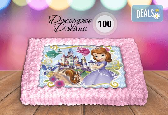 За най-малките! Торта със снимка за празника на Вашето дете с герой от филмче по дизайн от Сладкарница Джорджо Джани! - Снимка 5