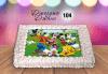За най-малките! Торта със снимка за празника на Вашето дете с герой от филмче по дизайн от Сладкарница Джорджо Джани! - thumb 6
