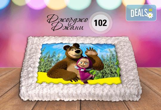 За най-малките! Торта със снимка за празника на Вашето дете с герой от филмче по дизайн от Сладкарница Джорджо Джани! - Снимка 2