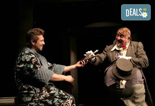 Гледайте Калин Врачански и Мария Сапунджиева в Ревизор в Театър ''София'' на 04.02. от 19 ч., билет за един - Снимка 5