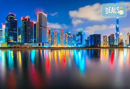 Екскурзия до магнетичния Дубай! 5 нощувки със закуски в хотел 3* или 4*, самолетен билет, летищни такси, трансфери и обзорна обиколка - Снимка 1