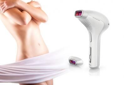За невероятно гладка кожа! 7 процедури IPL + RF фотоепилация за жени на пълен интим в салон Beauty Angel в Лозенец! - Снимка