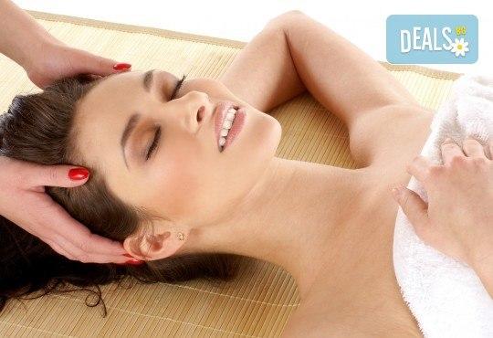 150-минутен SPA-MIX: масаж на цяло тяло с Hot Stone терапия, китайски точков масаж на лице с раковина и йонна детоксикация - Снимка 2
