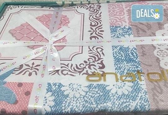 Семеен подарък! Лукозен комплект спално бельо, внос от Турция + подаръчна кутия от Zavivkite.com! - Снимка 11