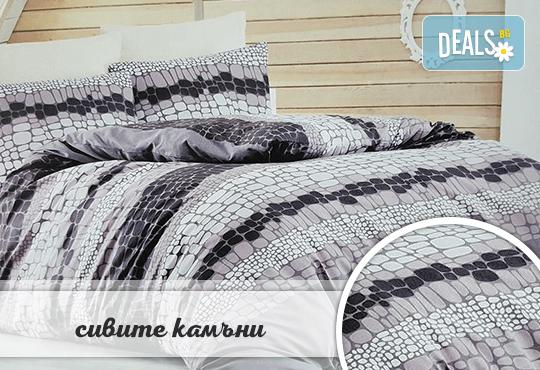 Семеен подарък! Лукозен комплект спално бельо, внос от Турция + подаръчна кутия от Zavivkite.com! - Снимка 7