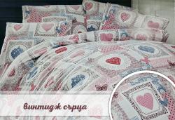 Семеен подарък! Лукозен комплект спално бельо, внос от Турция + подаръчна кутия от Zavivkite.com! - Снимка