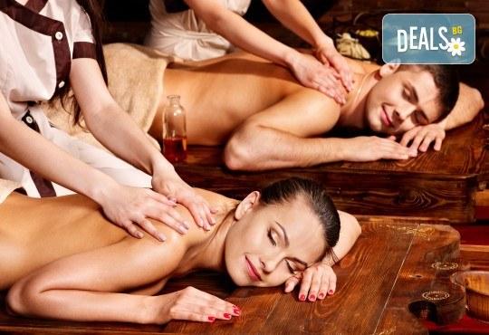Дълбоко релаксиращ масаж и ароматерапия за двама или масаж на четири ръце за един човек в Anima Beauty&Relax! - Снимка 2