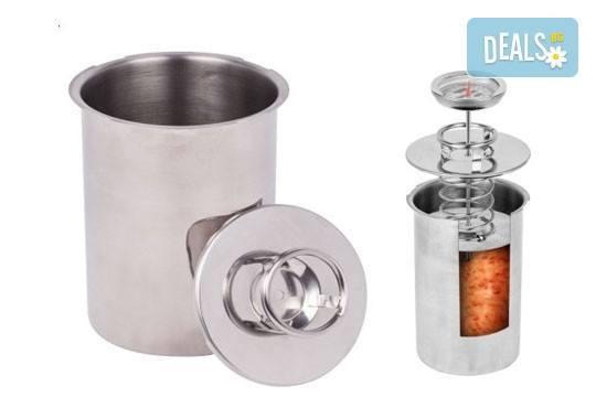 Шунковар - уред за приготвяне на домашна шунка от неръждаема стомана на специална цена! - Снимка 1
