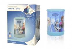 За сладки сънища! Малка преносима LED лампа за деца на Philips с героите от Frozen! - Снимка
