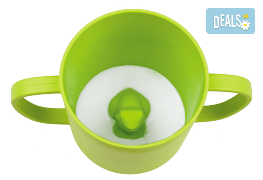 Свежа чашка с жабка Cuppies за Вашето дете