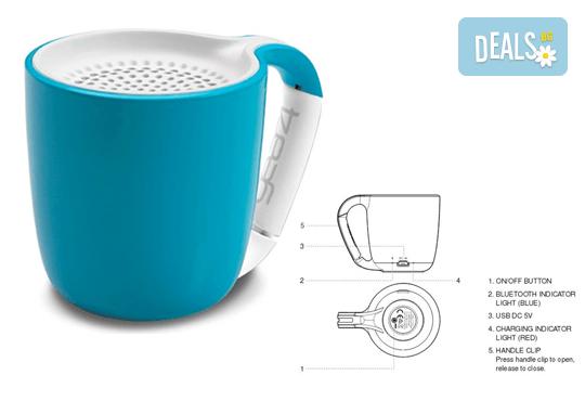 Вземете преносима безжична тонколонка Espresso Gear 4 и микро USB кабел за зареждане - Снимка 2