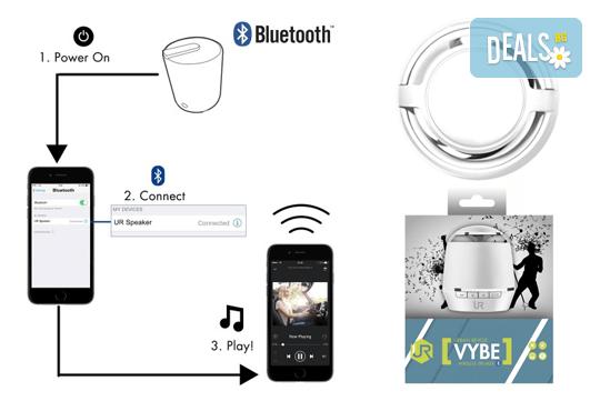 За кристален звук! Вземете преносима колонка Trust Urban Revolt Vybe Bluetooth! - Снимка 2