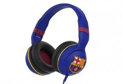 За истинските фенове! Вземете слушалки Skullcandy Hesh 2.0 с микрофон и логото на ФК Барселона! - Снимка