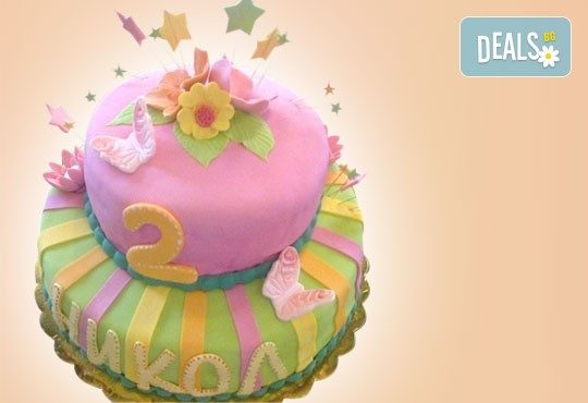 ПАРТИ торта с фигурална ръчно изработена декорация с любими на децата герои от Сладкарница Джорджо Джани - Снимка 15
