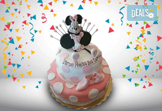 ПАРТИ торта с фигурална ръчно изработена декорация с любими на децата герои от Сладкарница Джорджо Джани - Снимка 2
