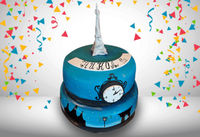 ПАРТИ торта с фигурална ръчно изработена декорация с любими на децата герои от Сладкарница Джорджо Джани - Снимка