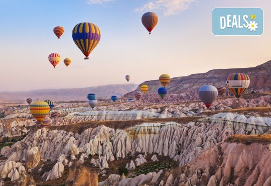 Великденска екскурзия до Кападокия! 4 нощувки със закуски и вечери, транспорт с дневен преход, посещение на Истанбул и Анкара - Снимка 1