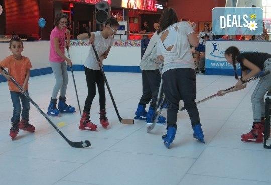 Незабравимо забавление! Наем за 1 час на синтетична ледена пързалка Ice Synthetic Rink в МОЛ Paradise Center за рожденни дни, партита и други събития! - Снимка 4