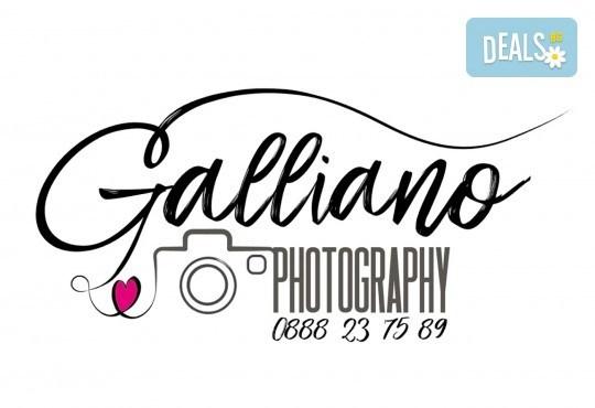 Професионална студийна фотосесия за деца с красиви декори и аксесоари за рожден ден от GALLIANO PHOTHOGRAPHY - Снимка 5