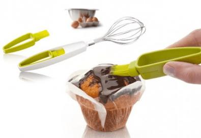 Незаменими помошници в приготвянето на сладкиши! Вземете бъркалка за яйца и четчица на холандската фирма Vacivin! - Снимка