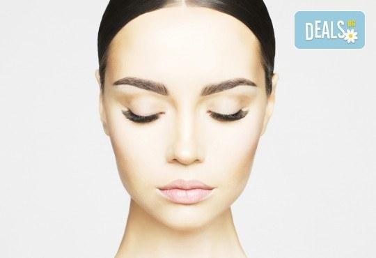 Поставяне на копринени мигли по метода косъм по косъм или 3D от козметично студио Ма Бел! - Снимка 2