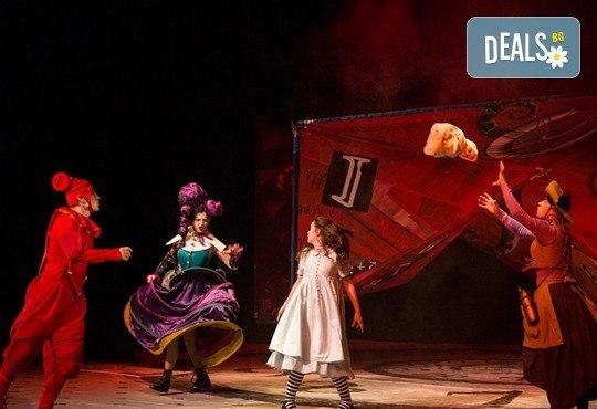 На театър с децата! Гледайте Алиса в страната на чудесата на 11.02. от 11 ч. в Младежки театър, голяма сцена! 1 билет - Снимка 12