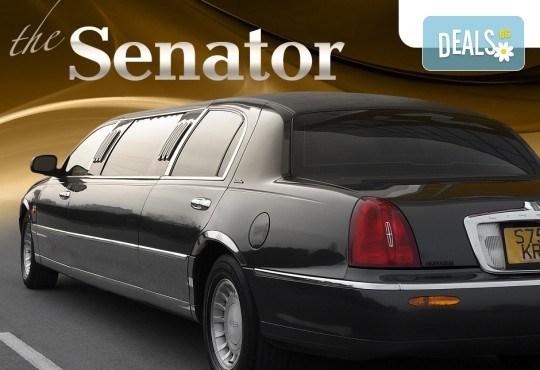 Лукс! Трансфер един час с холивудска стреч-лимузина от San Diego Limousines и Vivaldi Limousines - Снимка 7