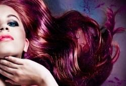 Подстригване, боядисване с боя на клиента и прическа със сешоар, в Салон за красота Визия и Стил, Пловдив! - Снимка