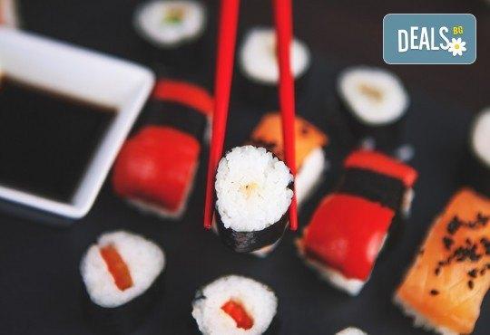 Екзотично, вкусно и на добра цена! Хапнете суши сет с 16 или 24 хапки от Central Lounge Bar в центъра на София! - Снимка 2