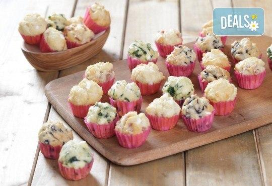 Сладък сет Детско парти! 80 сладки асорти: цветенца, пеперуди или колички, шоколадови топки, мъфини, еклери с крем за детски рожден ден от Muffin House! - Снимка 10