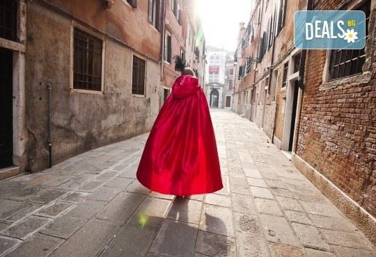 Посетете приказния карнавал във Венеция, Италия, през февруари! 2 нощувки със закуски, транспорт и водач от агенцията - Снимка 1