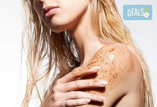 Избягайте от стреса с 80-минутна терапия - релаксиращ масаж и пилинг на цяло тяло, в студио за красота Jessica - Снимка 1
