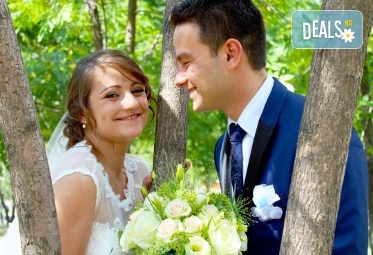 Специална цена до 10.02. на пакет за сватбено тържество! Фото и видео заснемане, Go Pro - Снимка 1