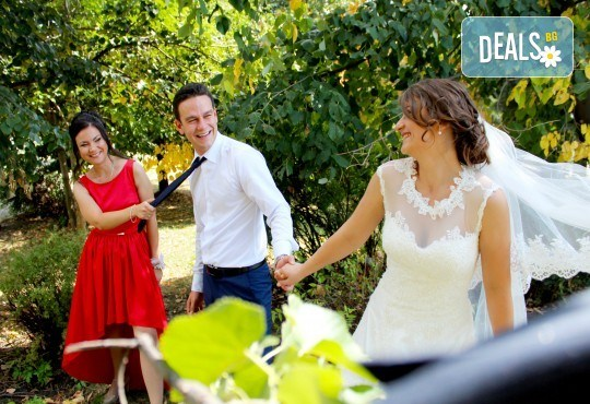 Специална цена до 10.02. на пакет за сватбено тържество! Фото и видео заснемане, Go Pro - Снимка 5
