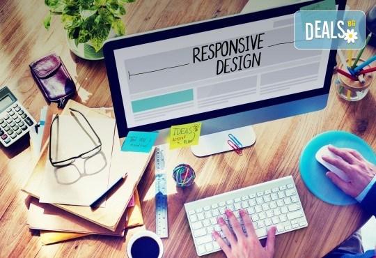 За Вашия бизнес! Изработка на фирмен уеб сайт и базова CEO оптимизация от екипа на Studio SVR Design! - Снимка 3