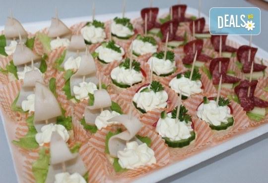 За Вашето събитие! 90, 120 или 150 броя разнообразни по вкус хапки на Мечо Фууд Кетъринг! - Снимка 3