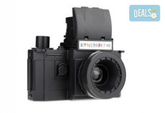 Запазете спомените с фотоапарат конструктор Lomo Flash 35 MM от Магазинчето на Руски паметник! - Снимка 3