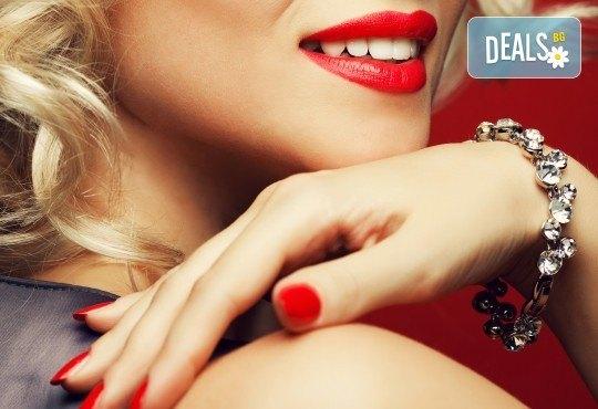 Перфектен стил с дълготраен маникюр с гел лак Gellish или Black Bottle и сваляне на стар гел лак в салон за красота Мария в кв. Павлово! - Снимка 2