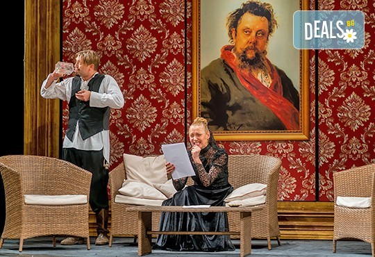 Гледайте Асен Блатечки, Койна Русева, Калин Врачански в Малко комедия, на 19.02. от 19ч, в Театър Сълза и Смях, 1 билет - Снимка 4