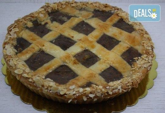 Хрупкав, ароматен ябълков мини пай, в красива кутия, от майстор сладкарите на сладкарница Сладост ! - Снимка 2