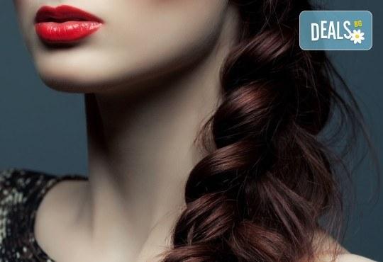 Полиране на коса - премахване на цъфтежите без отнемане от дължината + бонус: ефектна плитка по избор от каталога на студио за красота Jessica - Снимка 3