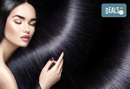 Полиране на коса - премахване на цъфтежите без отнемане от дължината + бонус: ефектна плитка по избор от каталога на студио за красота Jessica - Снимка 1
