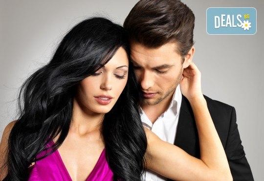 Най-добрите цени за мъжко и дамско подстригване, прическа със сешоар, преса или маша + масажно измиване и маска според нуждите на косата в студио Шедьовър! - Снимка 1
