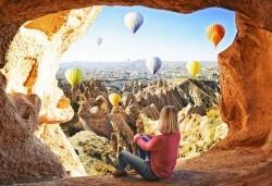Екскурзия до Кападокия - земя на скални чудеса и изумителни гледки! 5 нощувки със закуски, транспорт, екскурзовод и бонус програми в долината Дервент и Пашабаг! - Снимка
