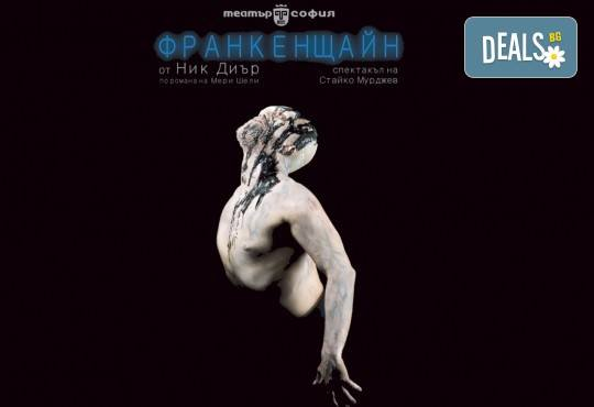 В деня на любовта! Гледайте Калин Врачански в брилянтната постановка Франкенщайн на 14.02. от 19 ч. в Театър София, 1 билет - Снимка 2
