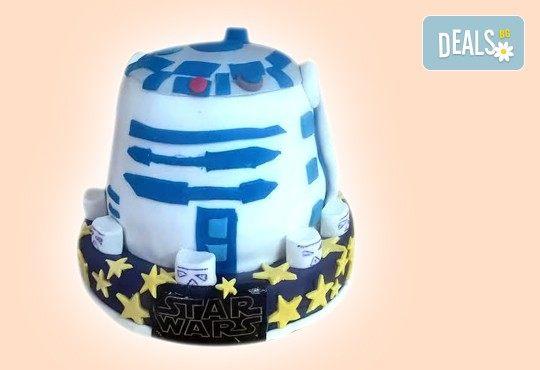 За момчетата! 3D торта с герои от филми по дизайн на Сладкарница Орхидея! - Снимка 6
