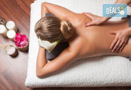 120-минутен SPA MIX! 90 мин. кан масаж с древни източни техники, ароматерапия и 30 мин. йонна детоксикация в център GreenHealth - Снимка 2