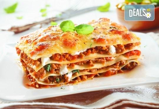 Опитайте вкусната италианска кухня! Вземете лазаня по Ваш избор от кулинарна работилница Деличи! - Снимка 1
