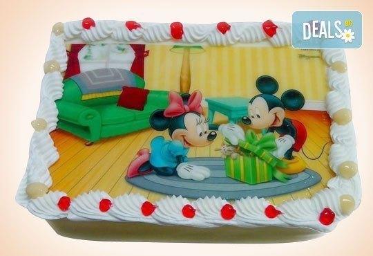 Сладкарница Орхидея сбъдва детските мечти! Поръчайте торта със снимка - Миньоните, Мечо Пух, Макуин, Елза или с Ваша снимка! - Снимка 27